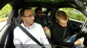 Taking the driving test in a sports car..mp4
