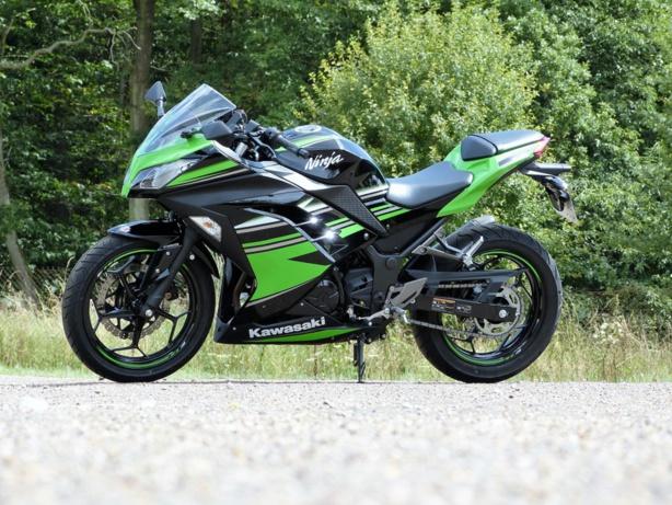 Kawasaki 300 Ninja : La furie verte