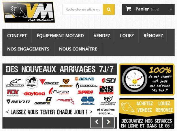 Vide-moto: Le pro de l'équipement moto d'occasion