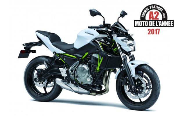 Kawasaki Z650: Moto de l'Année 2017 du permis A2