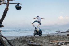 Les vérifs techniques du permis moto A2 sur la Ducati Scrambler Icon en conditions d'examen