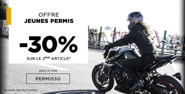 Motoblouz renforce son offre vers les jeunes permis avec une remise de 30%