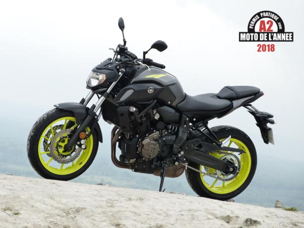 Yamaha MT-07: Moto de l'Année 2018 du permis A2
