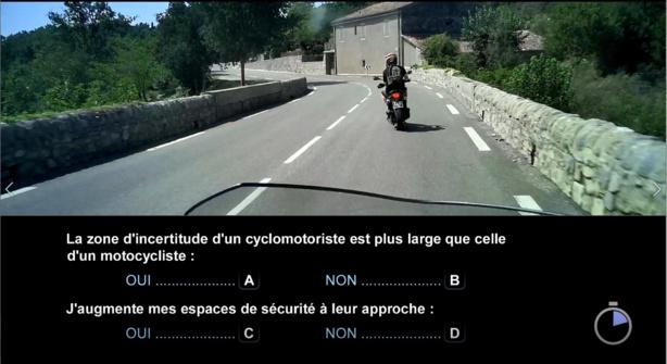 ETM : les questions officielles du nouveau code moto 2020 2/2