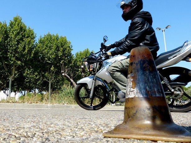 Conduire une moto 125
