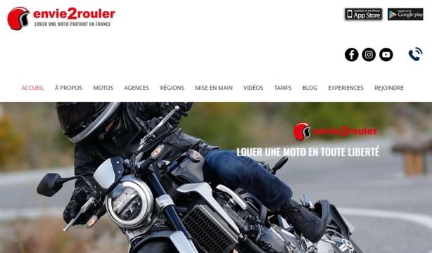 Louer une moto après son permis A2 avec Envie2rouler