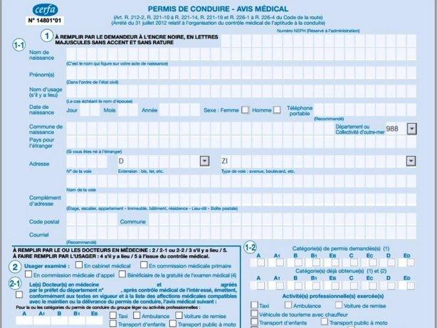 2016 Les Changements Pour Visites Medicales Du Permis De Conduire