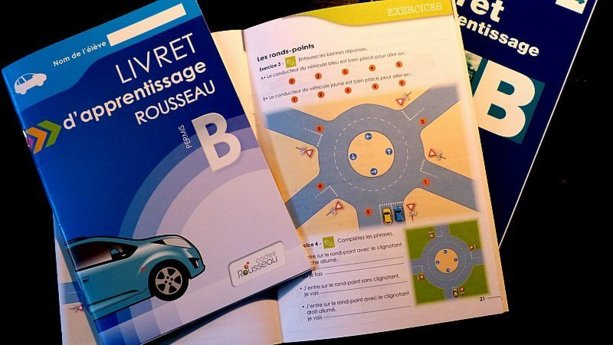 Les nouveaux livrets d'apprentissage du permis de conduire