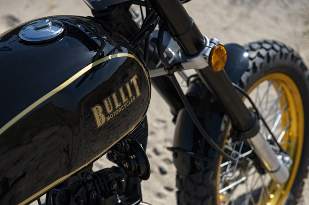 Bullit Hero Gold : La 125 qui a du look