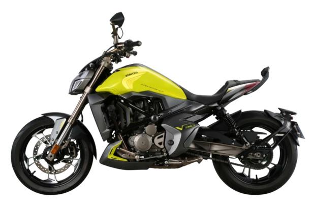 Toutes les motos Zontes accessibles avec le permis A2