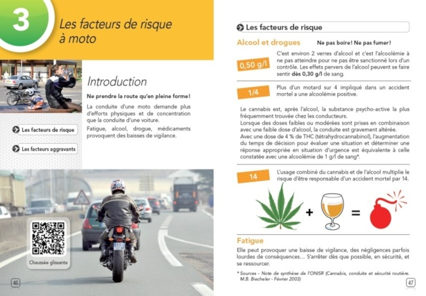 Les Codes Rousseau viennent de publier leur livre sur le nouveau permis moto2013.