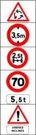 Toutes les questions de l'interrogation écrite de l'examen 2013 pour les permis poids-lourds : C1, C1E (code 97)
