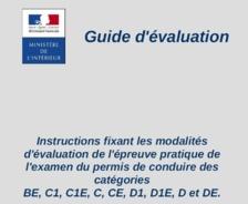 L'épreuve hors circulation pour les permis C1, C1E, C, CE, D1, D1E, D, DE et BE (Généralités)