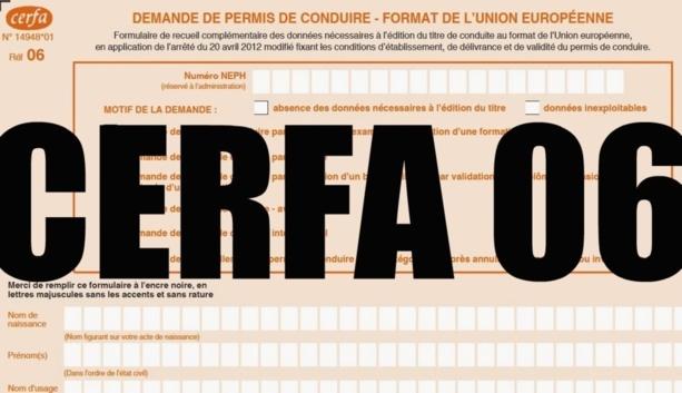 Cerfa06: Comment obtenir ou renouveler un permis de conduire depuis septembre 2013