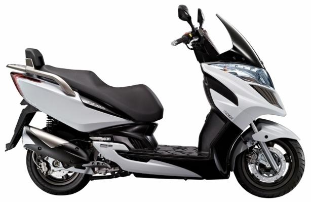 Tous les Kymco accessibles avec le permis moto A2