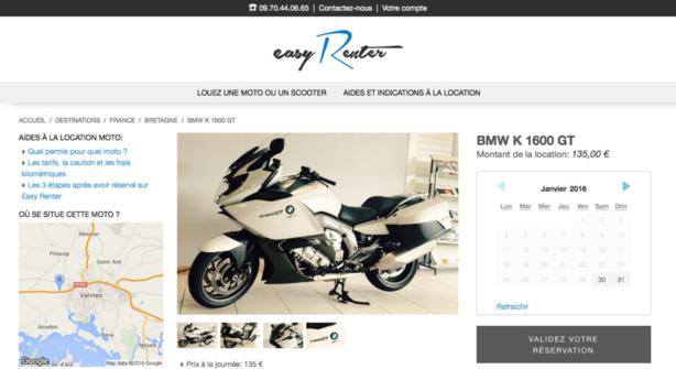 Easy Renter: Le loueur de motos et de scooters en France