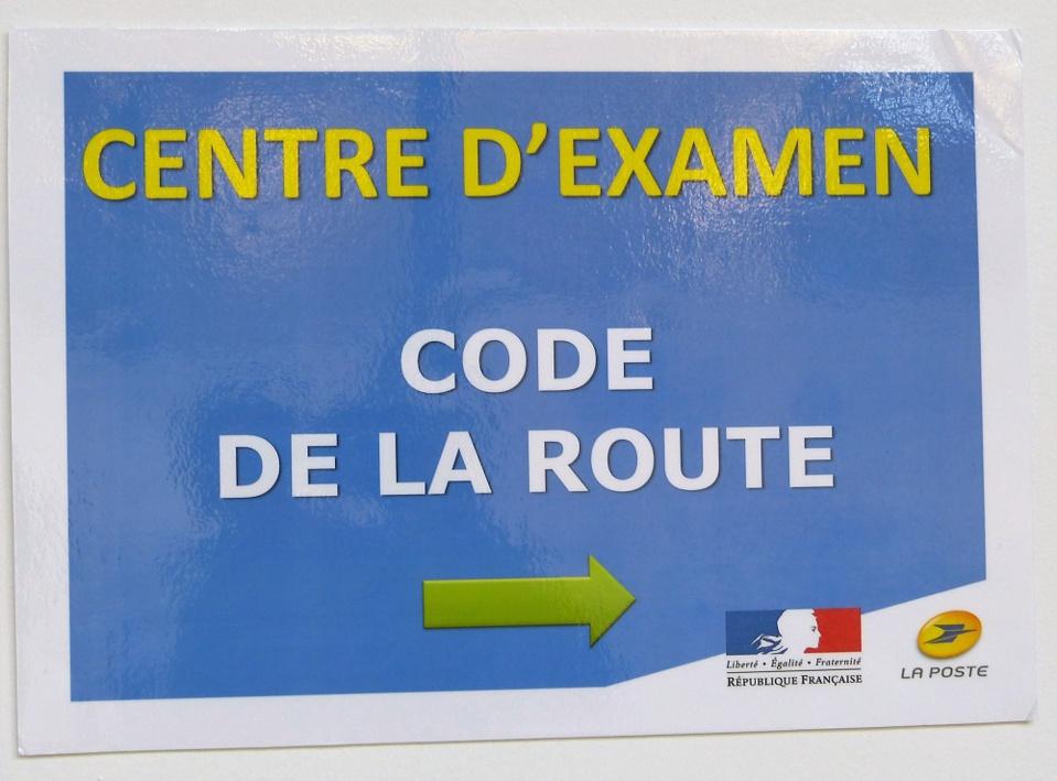 L'examen du Code: désormais possible à La Poste de Lisieux (14)