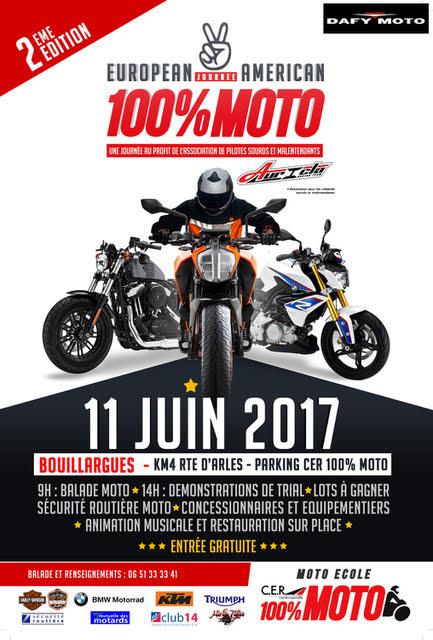 2 ème Journée de la moto à Nimes le dimanche 11 juin