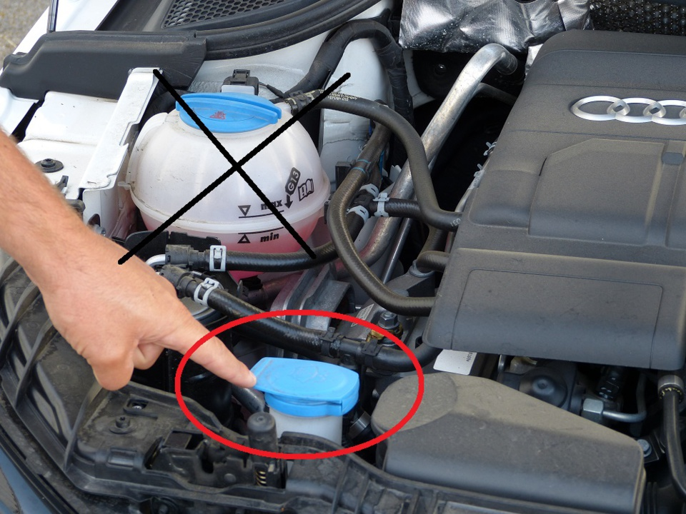 Les verifs extérieures du permis B sur l'Audi A1