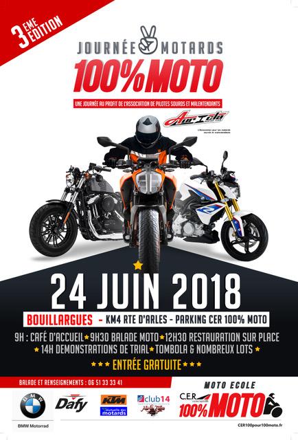 Fête de la moto à Nimes le 24 juin 2018