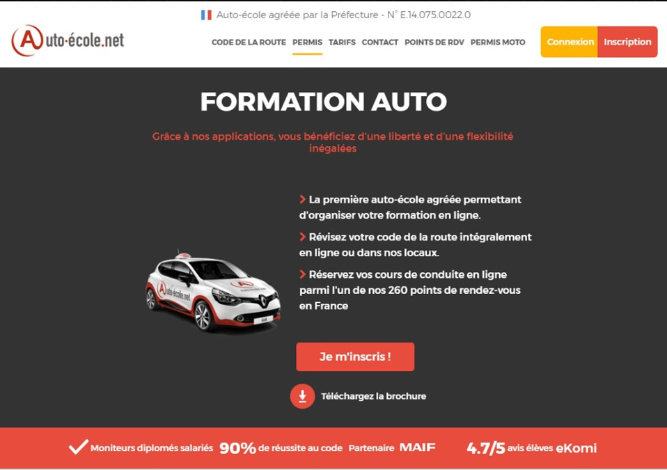 auto-école.net: Pédagogie et big data au bénéfice des candidats au permis de conduire