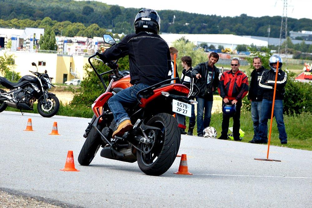 Les 3 difficultés du permis moto