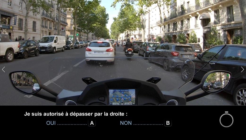 ETM : les questions officielles en vidéo du nouveau code moto 2020