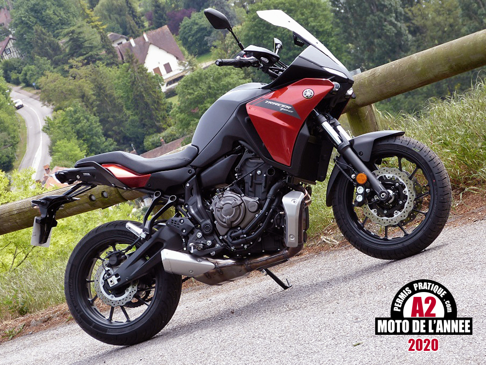 Yamaha Tracer 700: Moto de l'année A2 2020 pour sa polyvalence