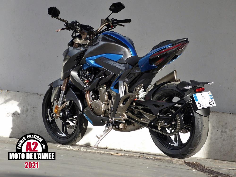 Moto A2 de l'Année 2021, la Zontes R310 fait révolution(s)