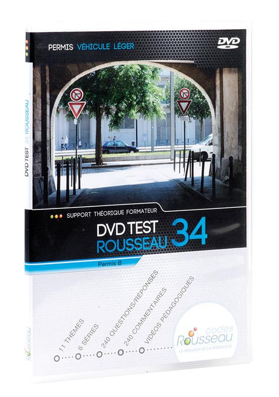 un nouveau dvd rousseau de test pour le code de la route. Black Bedroom Furniture Sets. Home Design Ideas