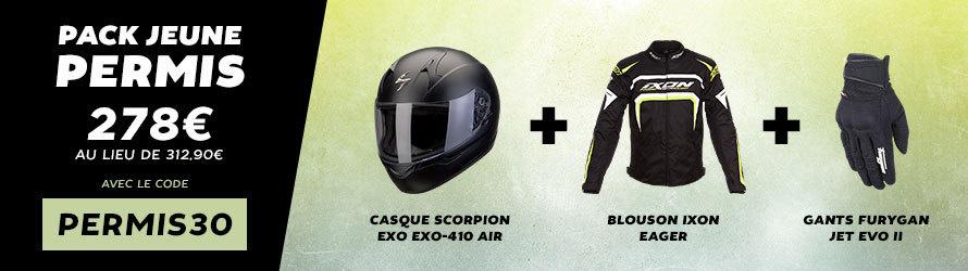 motoblouz pack et remise exclusifs pour les jeunes permis moto. Black Bedroom Furniture Sets. Home Design Ideas