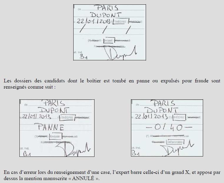 guide des modalit s de passage des preuves du permis de conduire page 7. Black Bedroom Furniture Sets. Home Design Ideas