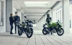 Les deux Kawasaki du permis B auto ou du permis moto A1