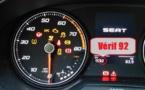 Les verifs intérieures 2019 du permis B (auto) sur la Seat Ibiza
