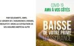 COVID-19: L'assureur AMV offre un mois de cotisation gratuite