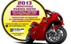 Les motos-écoles prêtes pour le nouveau permis2013