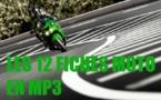 Les 12 fiches des interrogations orales du permis moto au format MP3 à télécharger gratuitement