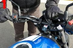 Permis moto vérif technique Suzuki SV650 V6A