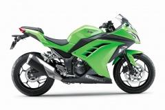 Kawasaki 300 Ninja profil droit