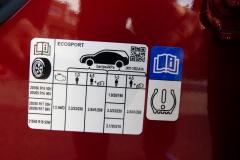 VE 2018 etiquette pneu Ford