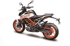 KTM 390 DUKE white_le_rear