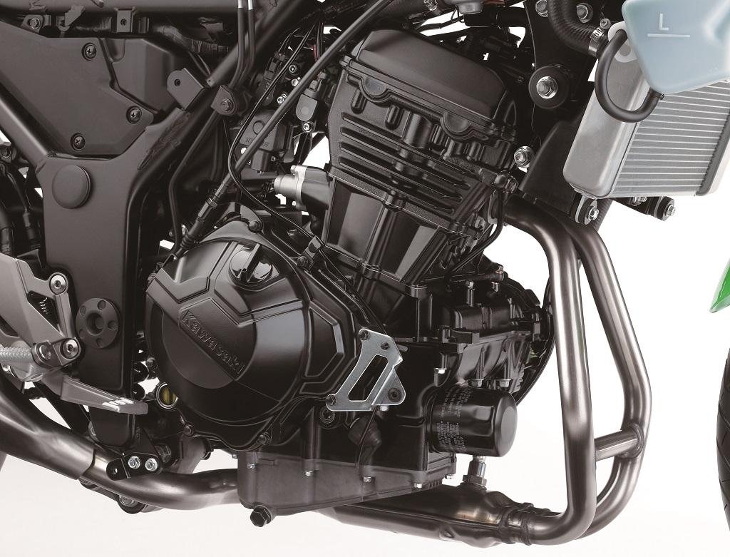 Kawasaki 300 Ninja moteur droit